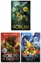 Philip Reeve Goblins Series 3 Books Collection Set Photo
