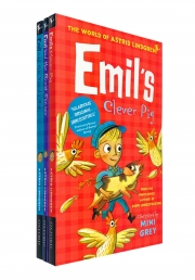 Astrid Lindgren Emil Collection 3 Books Set Great Escape, Sneaky Rat, Clever Pig Photo