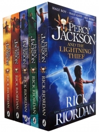 Percy Jackson Ultimate Collection 5 Books Set Lightning Thief, Last Olympian, Titans Curse, Sea of Monsters, Battle of the Labyrinth by Rick Riordan