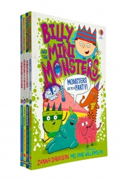 Billy and the Mini Monsters 4 Books Collection Set by Zanna Davidson Photo