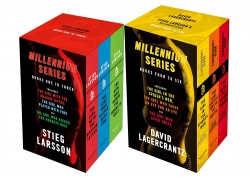Millennium Series 6 Books Complete Collection Box Set by Stieg Larsson & David Lagercrantz (Books 1 - 6) Photo