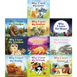 Why I Love 10 Picture Flat Books Children Collection Paperback Set By Daniel Howarth Photo