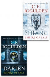 C F Iggulden Empire of Salt Series 2 Books Collection Set Photo