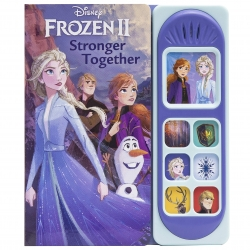Disney Frozen 2 Stronger Together Little Film Sound Book for Children Photo