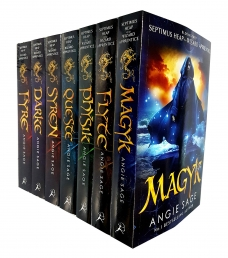 Septimus Heap Angie Sage 7 Books Collection Set Pack Photo