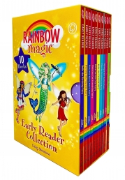 Rainbow Magic Early Reader Collection 10 Books Box Set by Daisy Meadows Photo