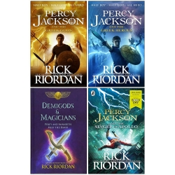 Rick Riordan Collection 4 Books Set Photo