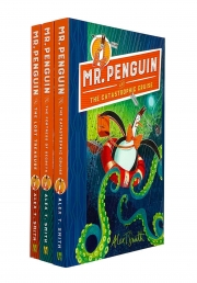 Mr Penguin Series 3 Books Collection Set By Alex T Smith Photo
