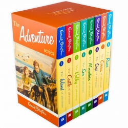 Enid Blyton Adventure series 8 Books Box Set Collection Classic Photo