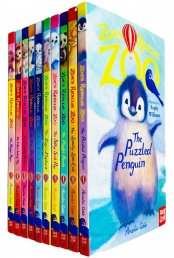 Zoes Rescue Zoo 10 Books Collection Set by Amelia Cobb Photo