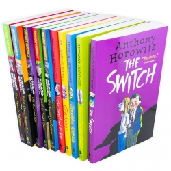Anthony Horowitz Wickedly Funny Children Collection 10 Books Set Inc Diamond Brothers Photo
