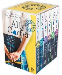 Gallagher Girls Collection Ally Carter 6 Books Box Set Photo
