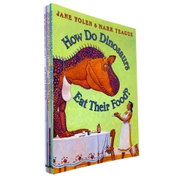 How Do Dinosaurs Collection 6 Books Collection Set Get Well Soon Say I Love You Photo