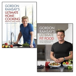 Gordon Ramsay Ultimate Fit Food and Ultimate Home Cooking 2 Books Collection Set Photo