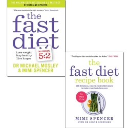 The Fast Diet and The Fast Diet Recipe Book 2 Book Collection Set Photo