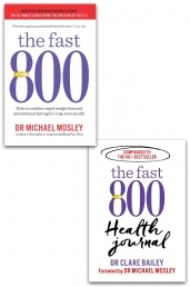 The Fast 800 & The Fast 800 Health 2 Books Collection Set by Michael Mosley by Dr Michael Mosley