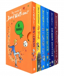 The World of David Walliams 6 Books Collection Box Set Boy in the Dress, Mr Stink Photo