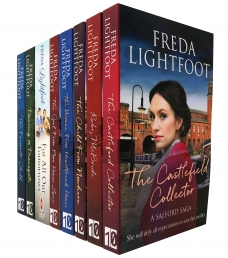 Freda Lightfoot Poor House Lane and Salford Saga 8 Books Collection Set Photo