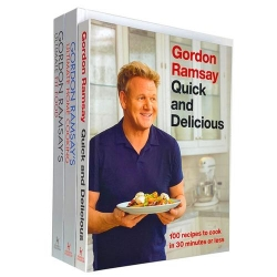 Gordon Ramsay Ultimate Fit Food, Ultimate Home Cooking, Quick & Delicious 3 Books Collection Set Photo