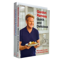 Gordon Ramsay Collection 2 Books Set - Ultimate Home Cooking, Quick and Delicious Photo