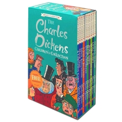The Charles Dickens Childrens Collection Easy Classics 10 Books Set Photo