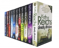 The Temperance Brennan Series 11 Books Collection Set By Kathy Reichs Photo