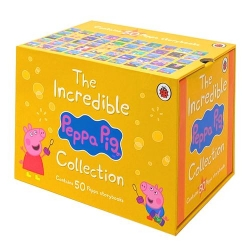The Incredible Peppa Pig Storybooks Collection 50 Books Box Set Photo