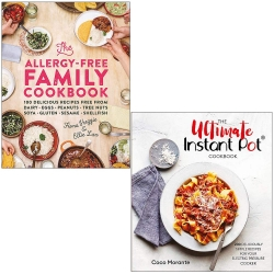 The Allergy-Free Family Cookbook & Ultimate Instant Pot Cookbook 2 Books Collection Set Photo