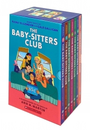 The Baby-Sitters Club Graphic Novels 7 Books Set Collection by Ann M. Martin Photo