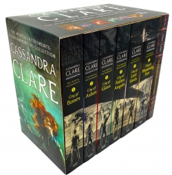 Cassandra Clare The Mortal Instruments A Shadowhunters 7 Books Collection Set Photo