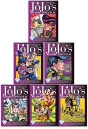 Jojos Bizarre Adventure Part 4 Diamond Is Unbreakable Vol 1-6 Collection 6 Books Set Photo