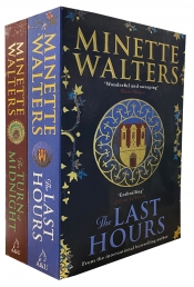 Minette Walters 2 Books Collection Set The Last Hours, The Turn of Midnight Photo