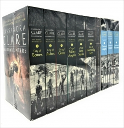 Cassandra Clare Mortal Instruments and Infernal Devices 10 Books Collection Set Photo