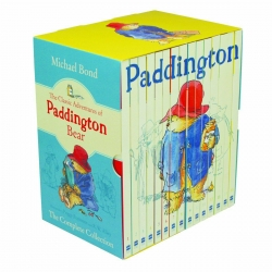 The Classic Adventures Of Paddington Bear Complete Collection 15 Books Box Set by Michael Bond Photo