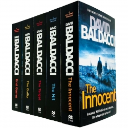 Will Robie Series Complete 5 Books Collection Set by David Baldacci Photo