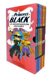 The Princess in Black 6 Monster-Battling Adventures Books Collection Box Set by Shannon & Dean Hale Photo