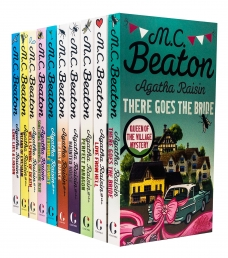 Agatha Raisin 10 Books Collection Set Series 1 By M C Beaton Photo