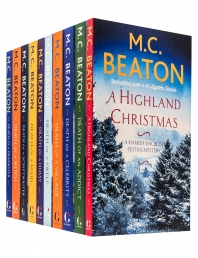 M C Beaton Hamish Macbeth Series 10 Books Collection Set Series 2 Photo