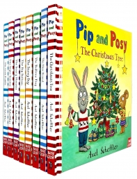 Pip and Posy Series 8 Books Collection Set by Axel Scheffler Photo