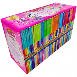 A Year of Rainbow Magic Boxed Collection 52 Books Set by Daisy Meadows