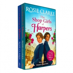 Rosie Clarke 2 Books Collection Set (Love and Marriage at Harpers and The Shop Girls of Harpers) Photo