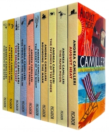 Inspector Montalbano 10 Books Set Collection by Andrea Camilleri Series 1 Photo