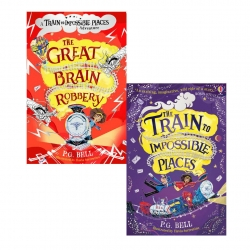 Train To Impossible Places Series 2 Books Collection Set By P.G. Bell Photo