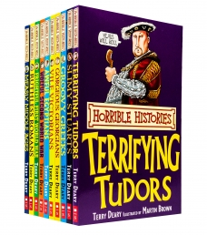 Horrible Histories Series 10 Beastly Books Collection Set Photo