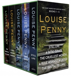 Chief Inspector Gamache Book Series 1-5 Collection 5 Books by Louise Penny Photo