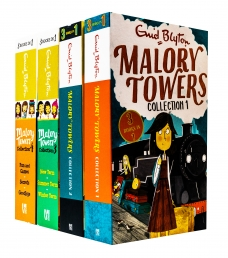 Enid Blyton Malory Towers 4 Books 12 Story Collection (3 Books in 1) Photo