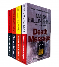 Tom Thorne Novels Series 4 Books Collection Set by Mark Billingham - Series 2 Photo