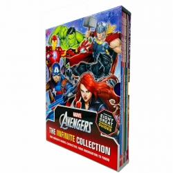 Marvel The Avengers The Infinite Collection Character Guides Volume 1 - 8 Books Collection Box Set Photo
