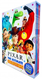 Pixar The Ultimate Collection 8 Books Box Set (Brave, Up, Cars, The Incredibles, Monsters INC, Nemo, Dory, Toy Story & MORE!) Photo