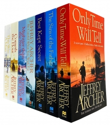 The Clifton Chronicles Series Jeffrey Archer Collection 7 Books Set Photo